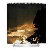 Brilliant Rays Shower Curtain