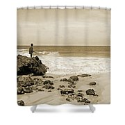 Bringing It Home Shower Curtain