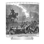 Bristol: Reform Riot, 1831 Shower Curtain
