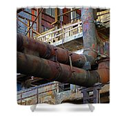 Britannia Mines Shower Curtain