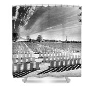 British Cemetery Shower Curtain