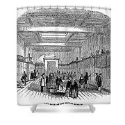 British Museum, 1845 Shower Curtain