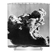 British Nuclear Test, 1952 Shower Curtain