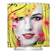 Britney  Shower Curtain