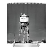 Broad Ave Watertower Memphis Shower Curtain