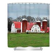Broadacres Farm Shower Curtain