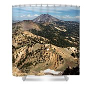 Brokeoff Mountain Scenery Shower Curtain