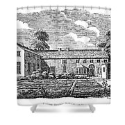 Bront�: Boarding School Shower Curtain by Granger