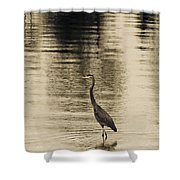 Bronze Lake Shower Curtain