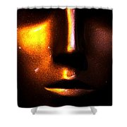 Bronze Likeness Shower Curtain