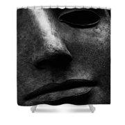 Bronze Mask Shower Curtain