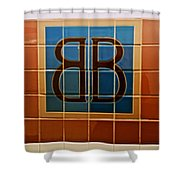 Brooklyn Bridge Station Shower Curtain