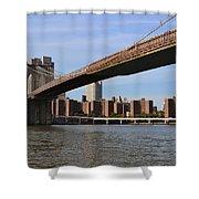 Brooklyn Bridge1 Shower Curtain