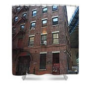 Brooklyn New York - 126 Front Street. Shower Curtain