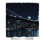 Brooklyn Nights Shower Curtain