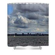 Brooklyn Skyline Shower Curtain