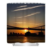 Brooklyn Sunrise Shower Curtain