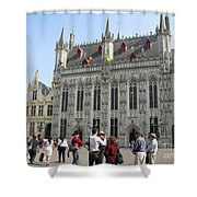 Brugge 2011 Shower Curtain