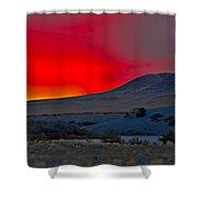 Bruneau Sunrise Shower Curtain