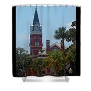 Brunswick Clock  Shower Curtain