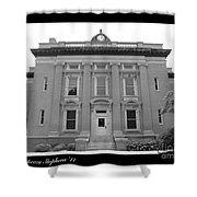 Brunswick Historical Court House Shower Curtain