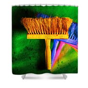 Brush Shower Curtain