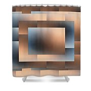 Brushed 02 Shower Curtain