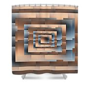 Brushed 04 Shower Curtain