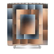 Brushed 05 Shower Curtain