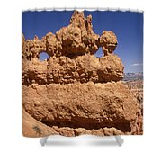Bryce Canyon - Mask Formation Shower Curtain