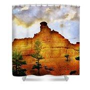Bryce National Park Sunset Shower Curtain