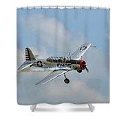 Bt-13 Vultee Valiant Shower Curtain