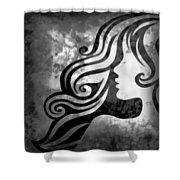 Btw I Loved You 2 Shower Curtain by Angelina Vick