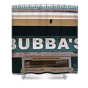 Bubba Burgers Shower Curtain