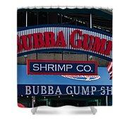 Bubba Gump Shower Curtain