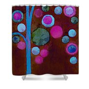 Bubble Tree - W02d Shower Curtain