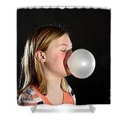 Bubblegum Bubble 2 Of 6 Shower Curtain