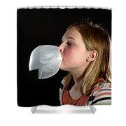 Bubblegum Bubble 4 Of 6 Shower Curtain