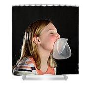 Bubblegum Bubble 5 Of 6 Shower Curtain