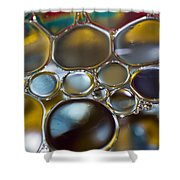 Bubbles II Shower Curtain