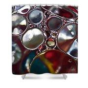 Bubbles IIi Shower Curtain