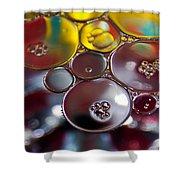 Bubbles Iv Shower Curtain