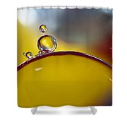 Bubbles Vi Shower Curtain