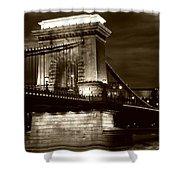 Budapest Nights Shower Curtain