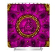 Buddha Also Love The Nature Shower Curtain