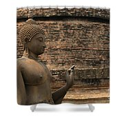 Buddha At Sukhothai 2 Shower Curtain