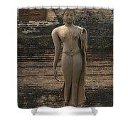 Buddha At Sukhothai 3 Shower Curtain