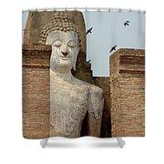 Buddha At Sukhothai Shower Curtain