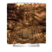 Buddha High Shower Curtain