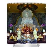 Buddha Statue Shower Curtain